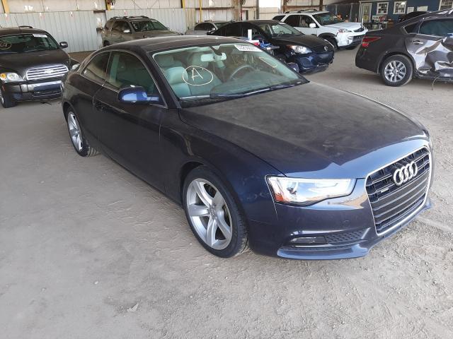 Salvage cars for sale at Phoenix, AZ auction: 2015 Audi A5 Premium