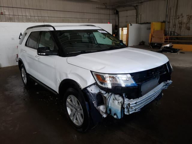 Salvage cars for sale at Candia, NH auction: 2018 Ford Explorer X