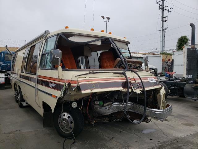 Salvage cars for sale from Copart Wilmington, CA: 1977 GMC Motor Home