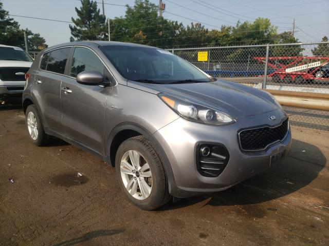 Salvage cars for sale from Copart Denver, CO: 2017 KIA Sportage L