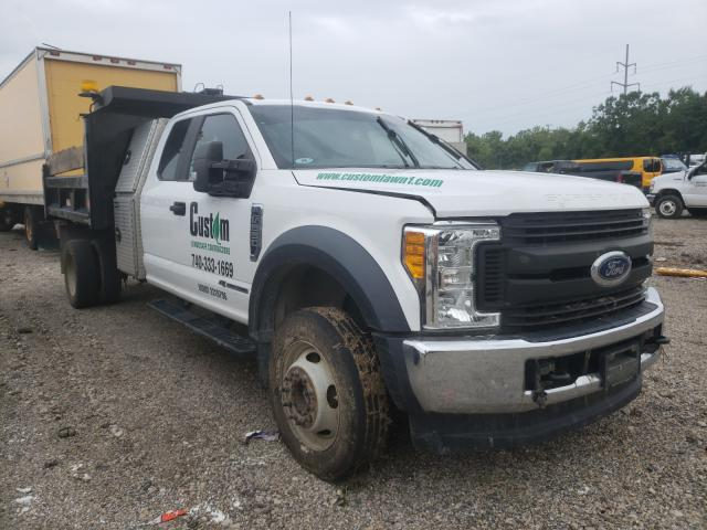 Salvage cars for sale from Copart Columbus, OH: 2017 Ford F550 Super