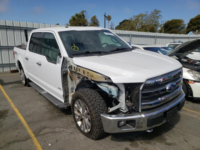 Salvage cars for sale from Copart Vallejo, CA: 2016 Ford F150 Super