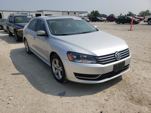 Volkswagen salvage cars for sale: 2013 Volkswagen Passat SE