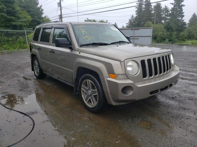 Salvage cars for sale from Copart Cow Bay, NS: 2008 Jeep Patriot SP