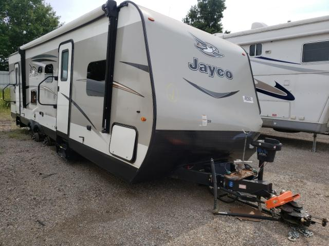 Salvage cars for sale from Copart Davison, MI: 2017 Jayco Trailer
