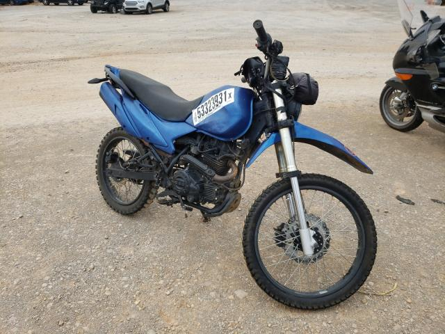 Salvage cars for sale from Copart Tanner, AL: 2018 Zongshen Dirt Bike