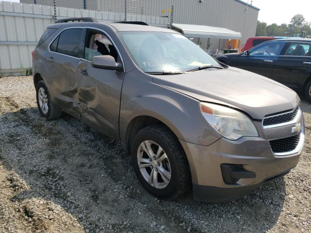 Salvage cars for sale from Copart Spartanburg, SC: 2012 Chevrolet Equinox LT