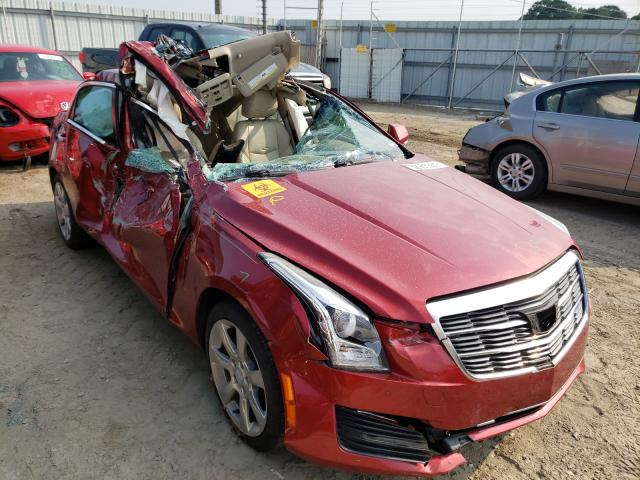 Salvage cars for sale at Conway, AR auction: 2015 Cadillac ATS Luxury