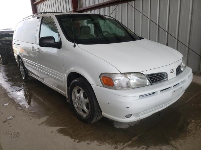 Oldsmobile Silhouette salvage cars for sale: 2002 Oldsmobile Silhouette