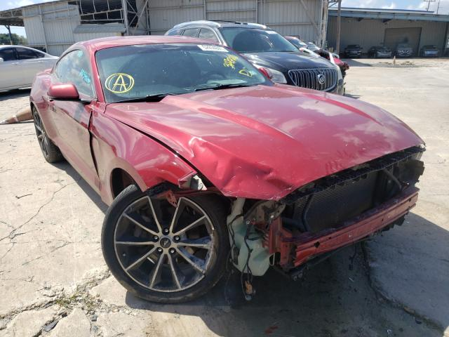 Salvage cars for sale from Copart Corpus Christi, TX: 2016 Ford Mustang