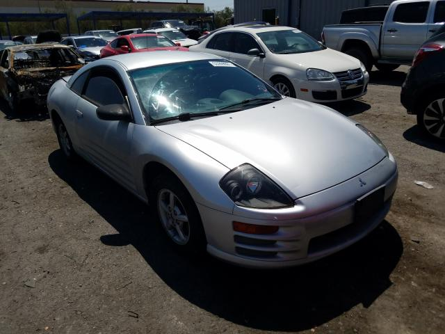 Salvage cars for sale at Las Vegas, NV auction: 2002 Mitsubishi Eclipse RS