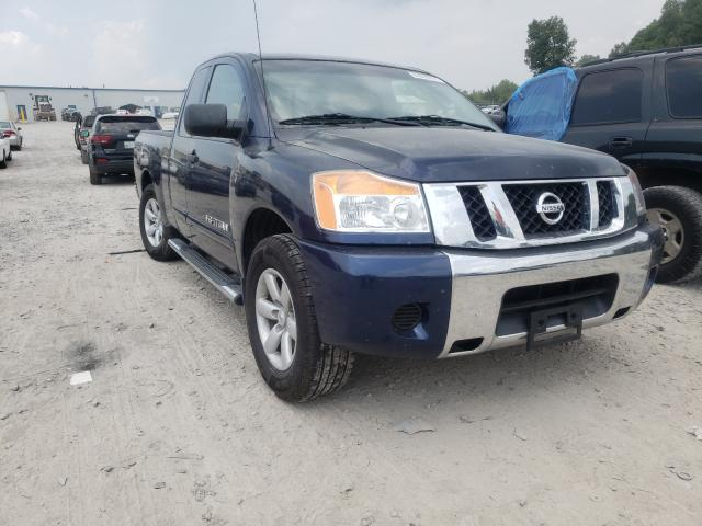 Salvage cars for sale from Copart Madisonville, TN: 2010 Nissan Titan XE