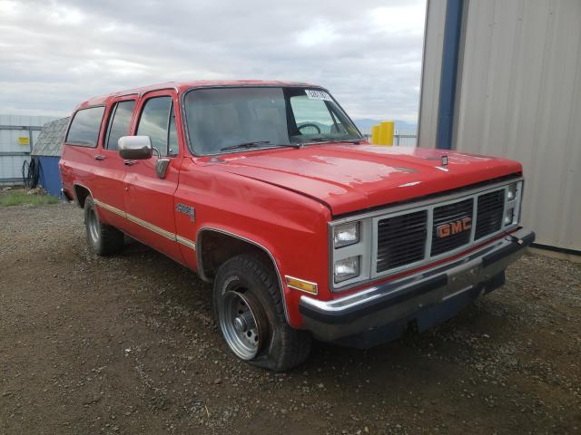 Salvage cars for sale from Copart Helena, MT: 1986 GMC Suburban