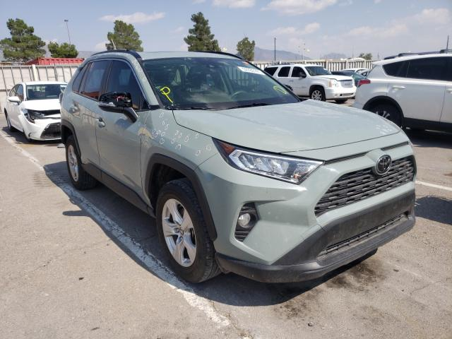 Salvage cars for sale from Copart Anthony, TX: 2019 Toyota Rav4 XLE
