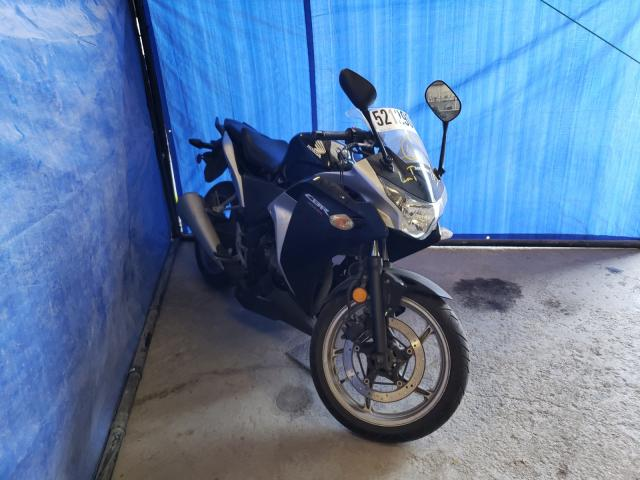 Salvage cars for sale from Copart Ontario Auction, ON: 2012 Honda CBR250 R