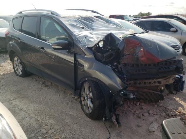 Salvage cars for sale from Copart Haslet, TX: 2015 Ford Escape Titanium
