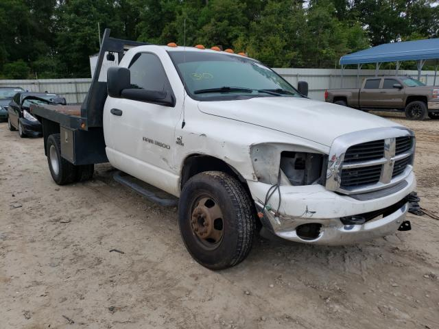 Salvage cars for sale from Copart Midway, FL: 2006 Dodge RAM 3500 S