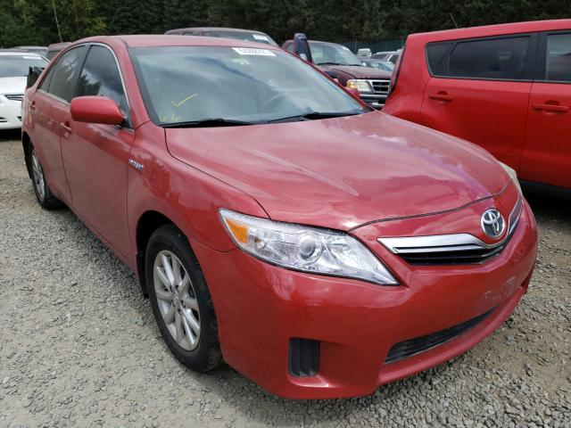 Salvage cars for sale from Copart Graham, WA: 2010 Toyota Camry Hybrid