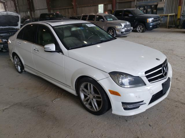 Salvage cars for sale from Copart Greenwell Springs, LA: 2014 Mercedes-Benz C 250