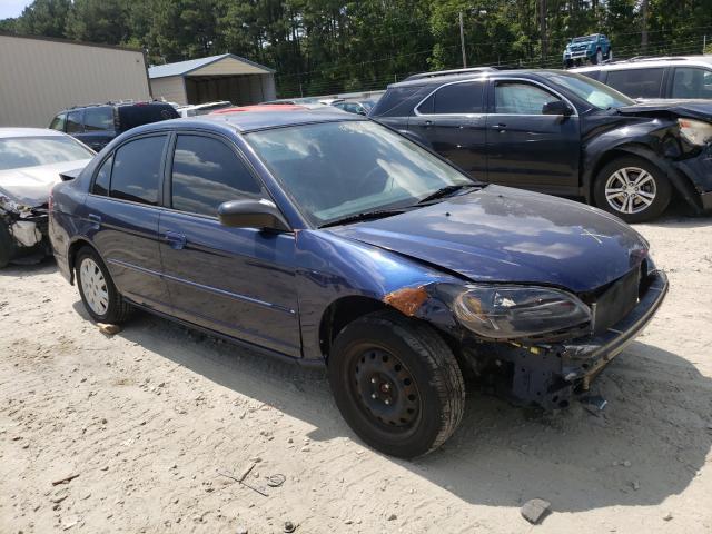 Honda Civic salvage cars for sale: 2004 Honda Civic