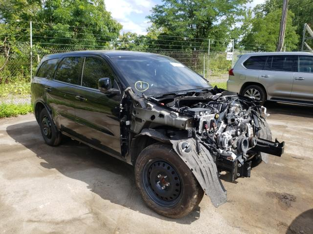 Salvage cars for sale from Copart Marlboro, NY: 2019 Dodge Durango R