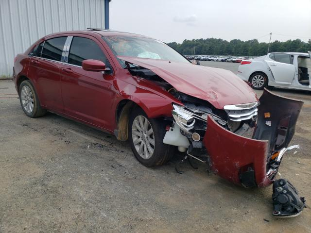 Salvage cars for sale at Shreveport, LA auction: 2012 Chrysler 200 Touring