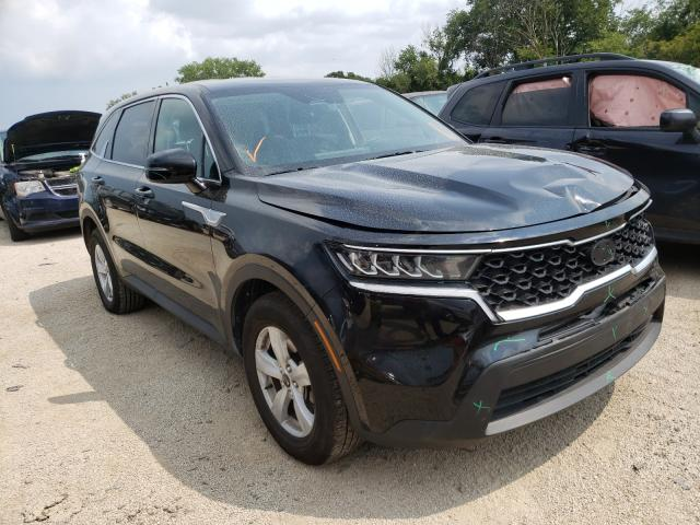 KIA salvage cars for sale: 2021 KIA Sorento LX