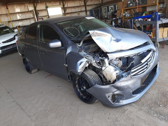 Salvage cars for sale from Copart Phoenix, AZ: 2018 Mitsubishi Mirage G4