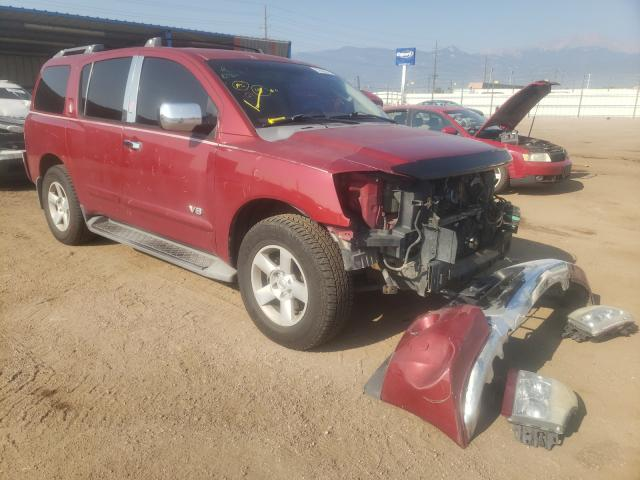 Salvage cars for sale from Copart Colorado Springs, CO: 2006 Nissan Armada SE