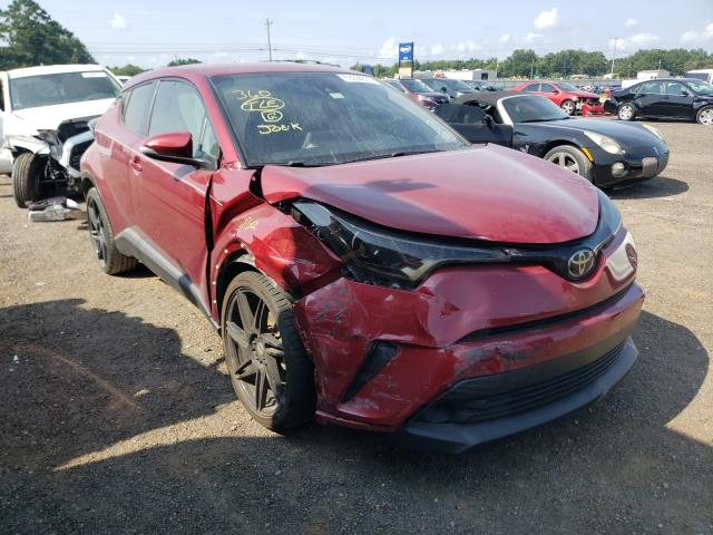 Salvage cars for sale from Copart Newton, AL: 2019 Toyota C-HR XLE