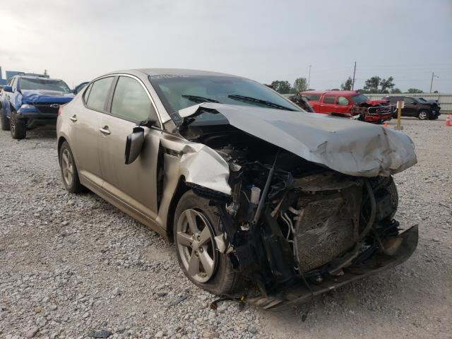 Salvage cars for sale from Copart Des Moines, IA: 2014 KIA Optima LX