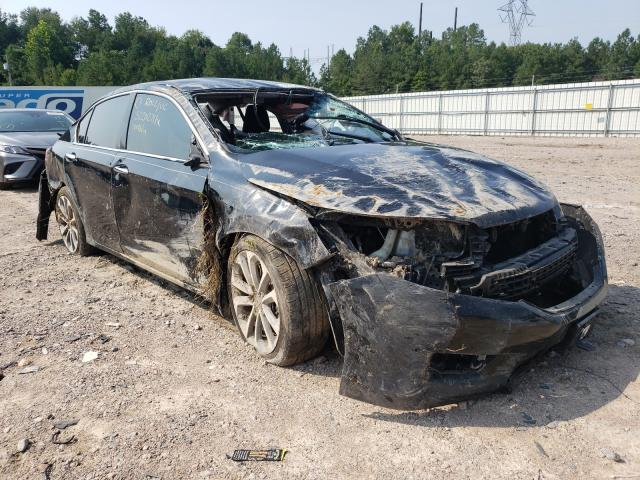 Salvage cars for sale at Charles City, VA auction: 2015 Honda Accord Sport