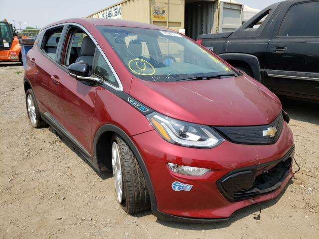 Salvage cars for sale from Copart San Martin, CA: 2021 Chevrolet Bolt EV LT