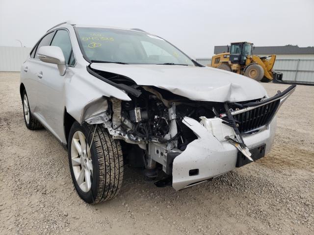 Vehiculos salvage en venta de Copart Bismarck, ND: 2010 Lexus RX 350