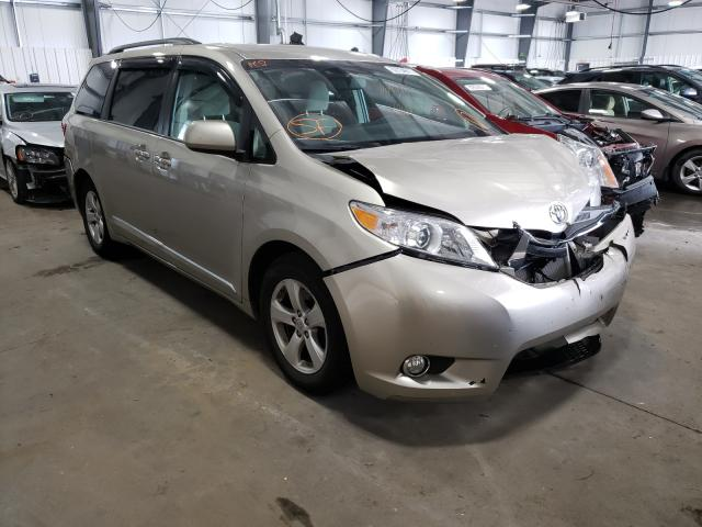 Toyota salvage cars for sale: 2015 Toyota Sienna LE