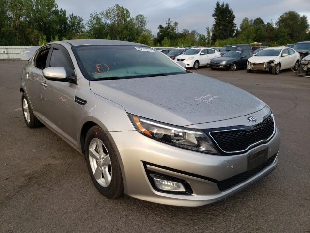 Salvage cars for sale from Copart Portland, OR: 2015 KIA Optima LX
