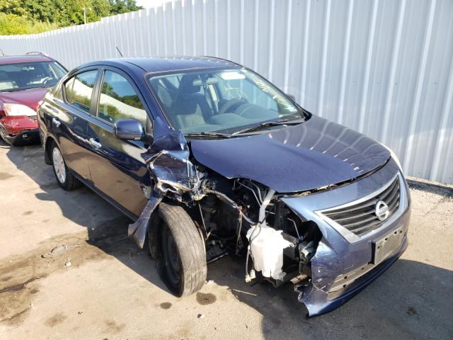 Salvage cars for sale from Copart Marlboro, NY: 2013 Nissan Versa S