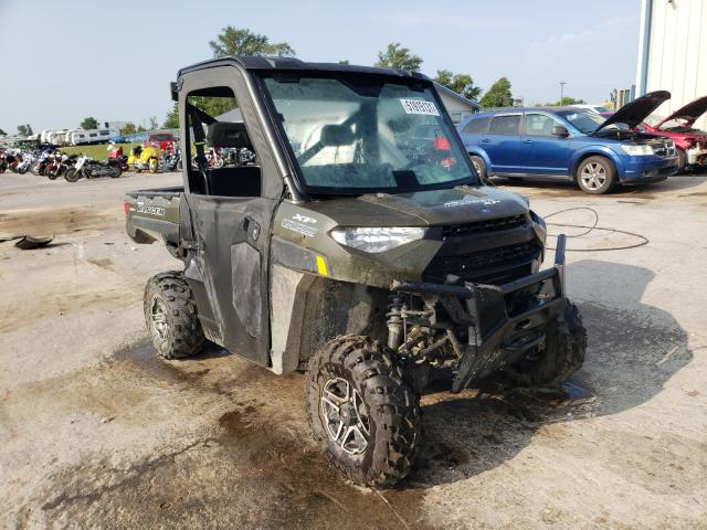 Salvage cars for sale from Copart Sikeston, MO: 2018 Polaris Ranger XP