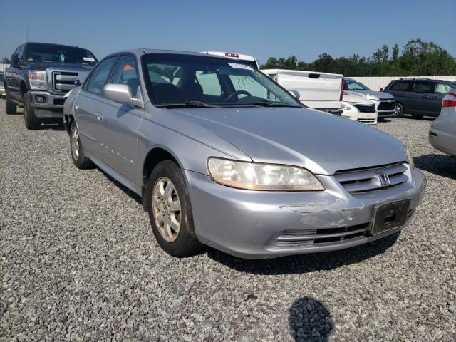 Salvage cars for sale from Copart Fredericksburg, VA: 2002 Honda Accord EX