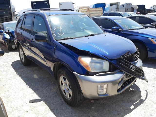Salvage cars for sale at Las Vegas, NV auction: 2002 Toyota Rav4