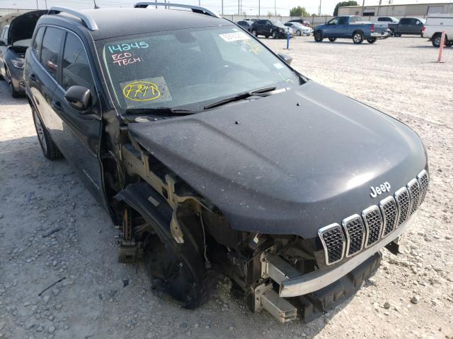 Salvage cars for sale from Copart Haslet, TX: 2019 Jeep Cherokee L