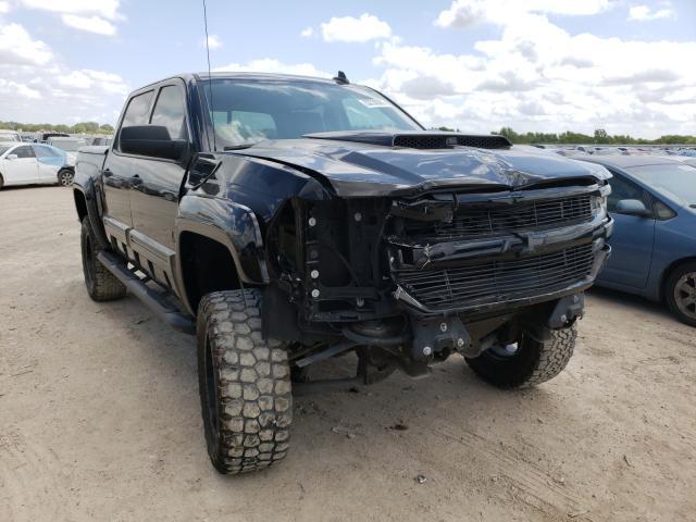 Vehiculos salvage en venta de Copart Temple, TX: 2018 Chevrolet Silverado