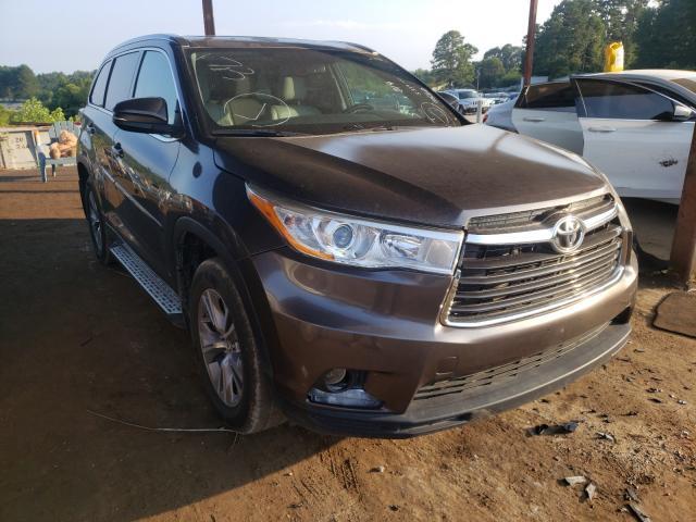 Vehiculos salvage en venta de Copart Fairburn, GA: 2014 Toyota Highlander