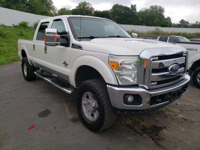 Vehiculos salvage en venta de Copart Marlboro, NY: 2011 Ford F250 Super