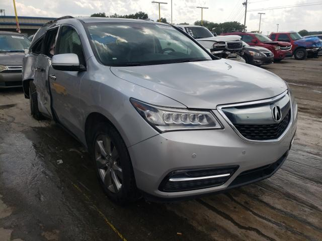 Acura salvage cars for sale: 2014 Acura MDX Advance