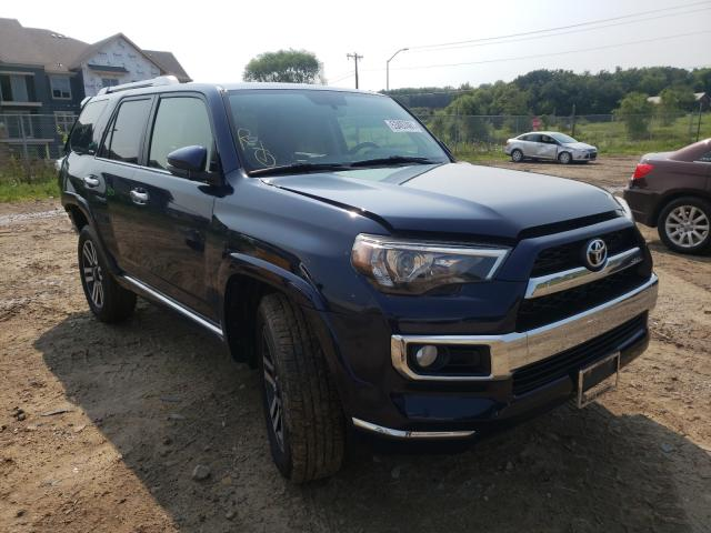 Salvage cars for sale from Copart Madison, WI: 2016 Toyota 4runner SR