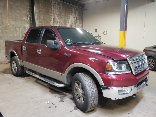 Salvage cars for sale from Copart Chalfont, PA: 2005 Ford F150 Super