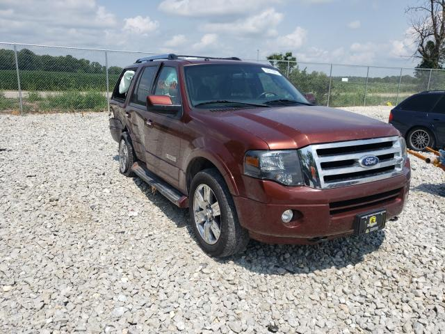 Salvage cars for sale from Copart Cicero, IN: 2007 Ford Expedition