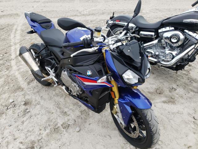BMW salvage cars for sale: 2020 BMW S 1000 R