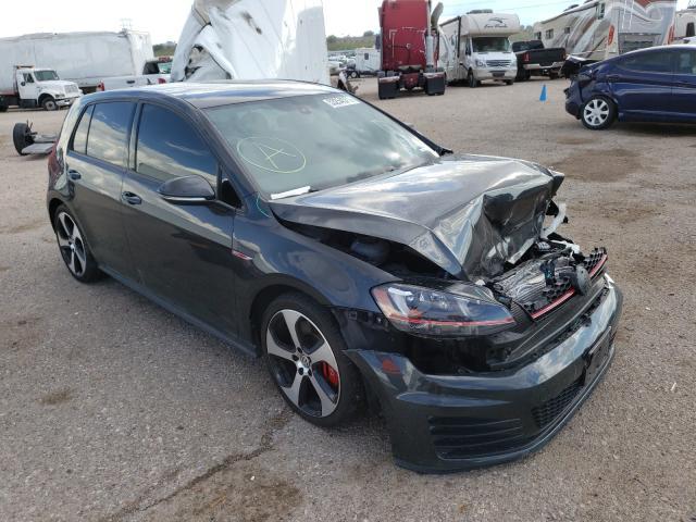 Volkswagen GTI S/SE Vehiculos salvage en venta: 2017 Volkswagen GTI S/SE